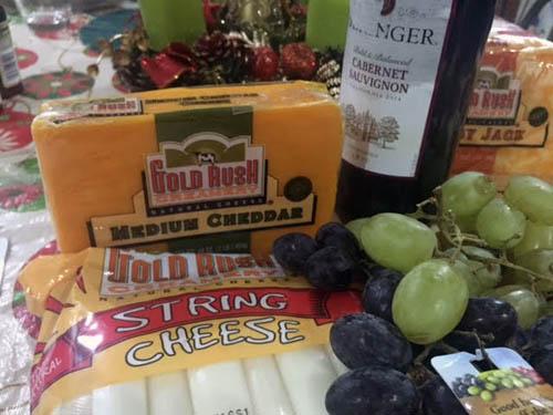 califorina cheese cheddar