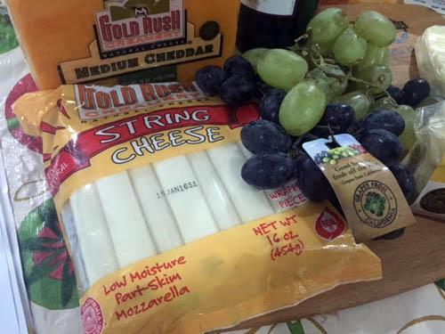 california cheese mozzarella