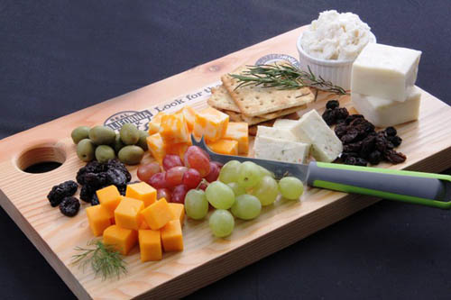 california cheese platter