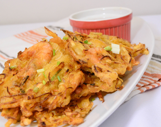 Ukoy fritters 1