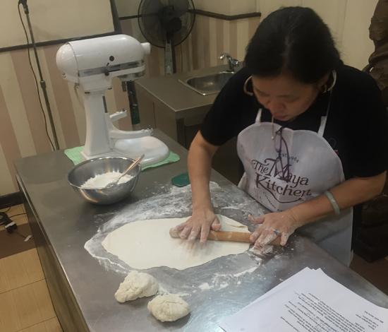 scallion pancakes roll