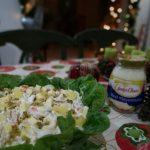 Chicken macaroni salad for Noche Buena