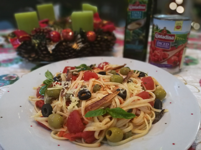 Beef Morcon Pasta Puttanesca With Gourmet Tuyo